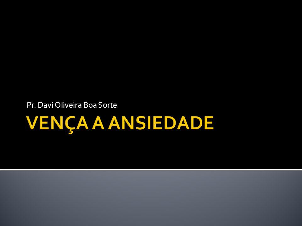 Pr. Davi Oliveira Boa Sorte