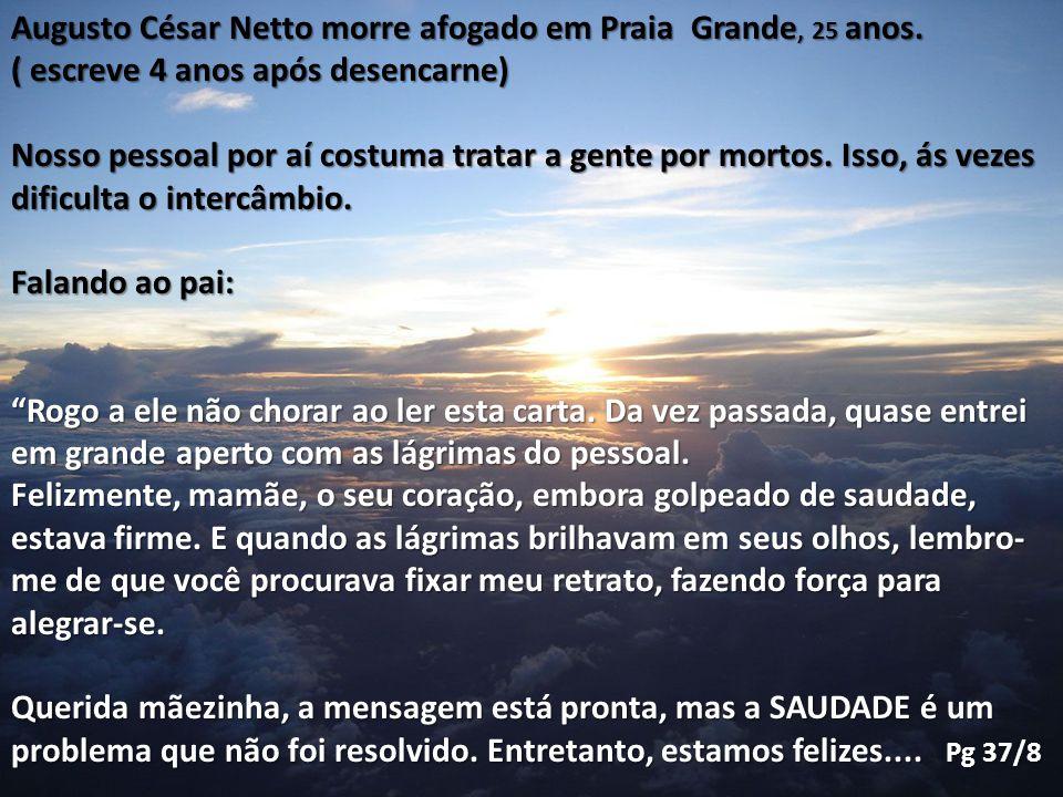 Augusto César Netto morre afogado em Praia Grande, 25 anos.