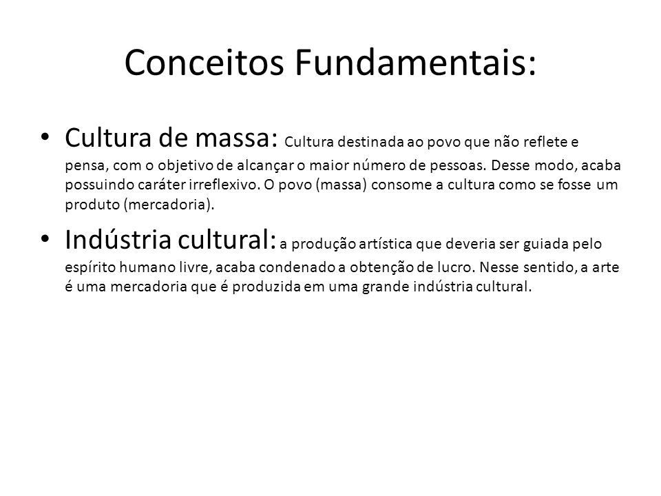 Conceitos Fundamentais: