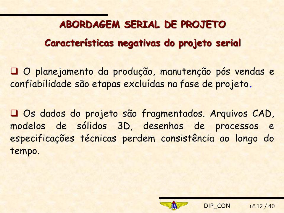 ABORDAGEM SERIAL DE PROJETO