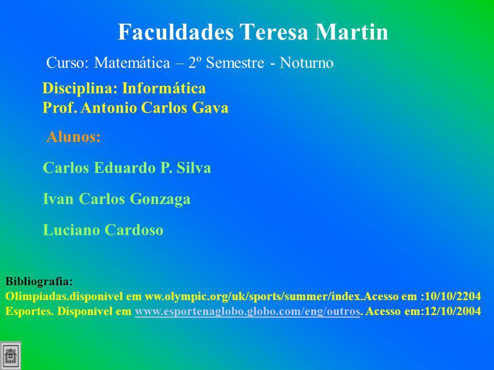Faculdades Teresa Martin