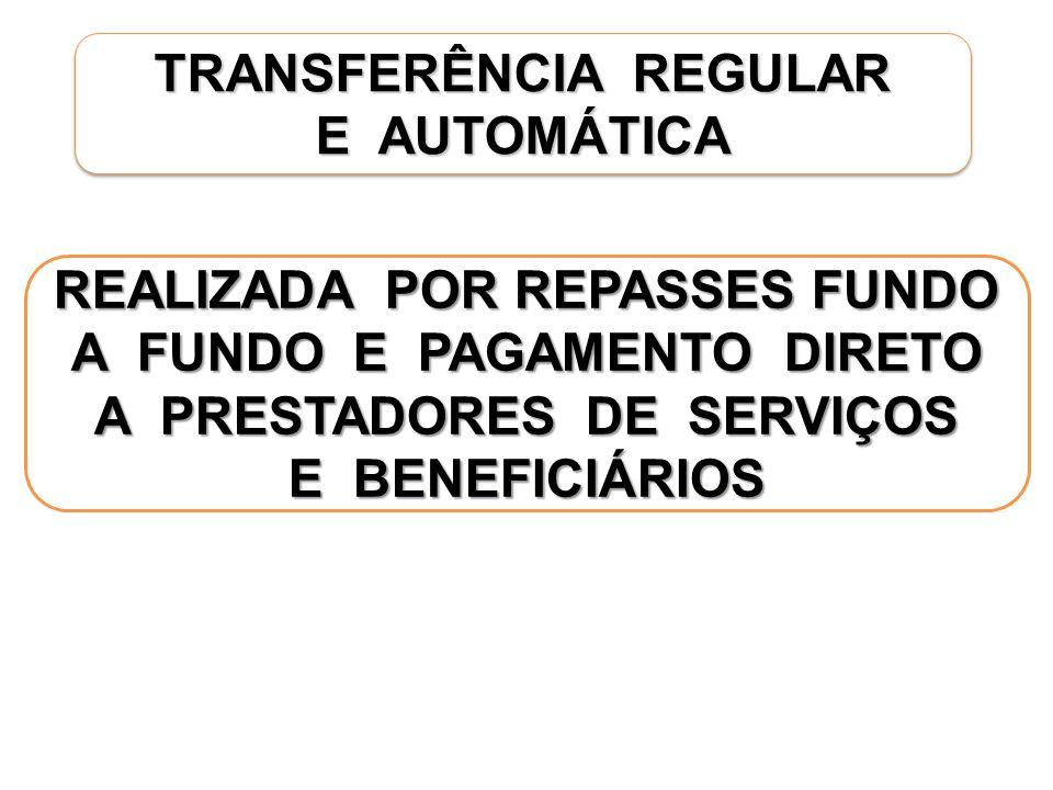 TRANSFERÊNCIA REGULAR