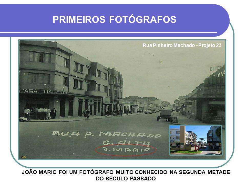 Rua Pinheiro Machado - Projeto 23