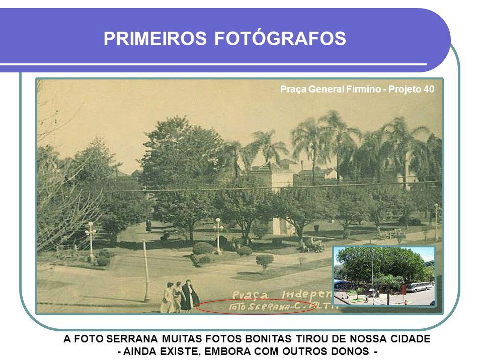 Praça General Firmino - Projeto 40