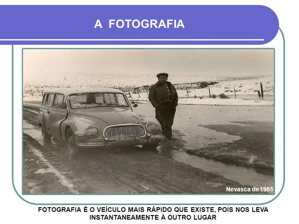 A FOTOGRAFIA Nevasca de 1965.