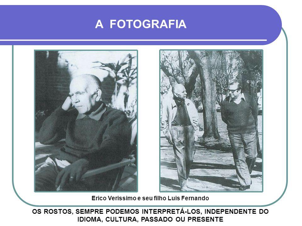 Erico Verissimo e seu filho Luis Fernando