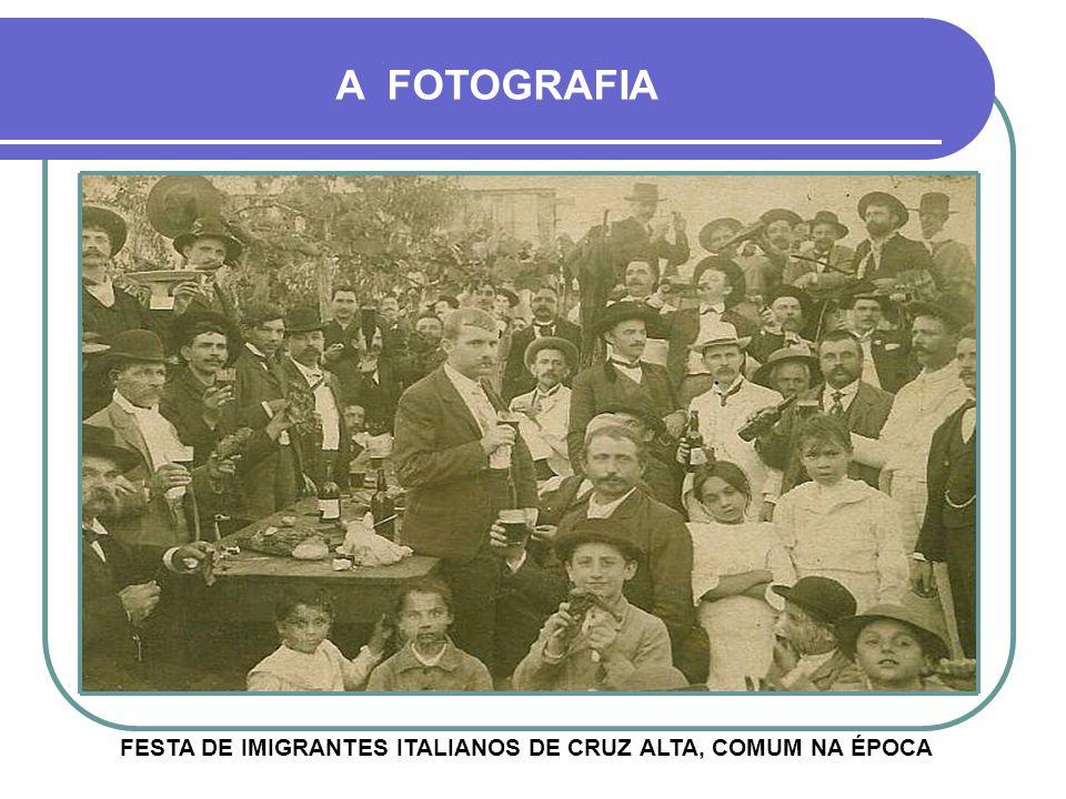 FESTA DE IMIGRANTES ITALIANOS DE CRUZ ALTA, COMUM NA ÉPOCA
