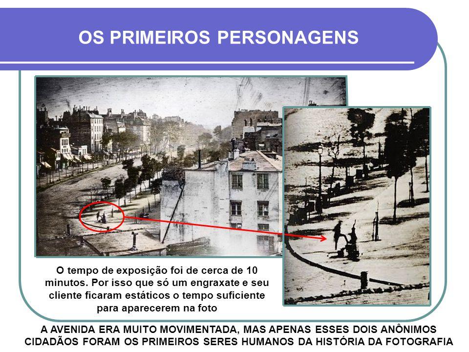 OS PRIMEIROS PERSONAGENS
