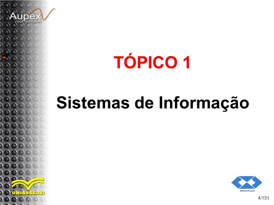 TÓPICO 1 Sistemas de Informação