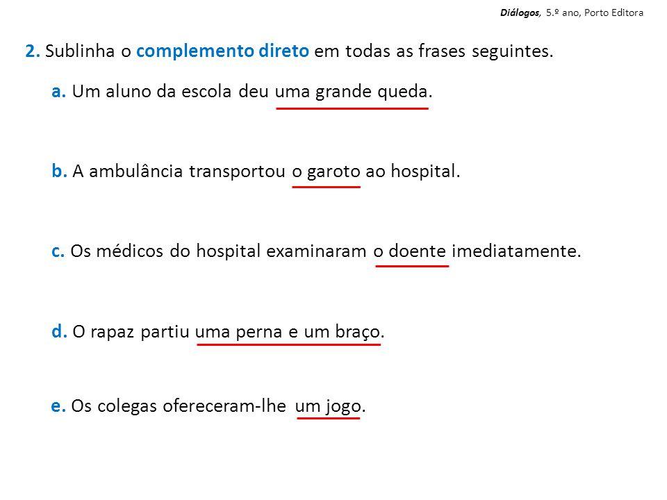 Diálogos, 5.º ano, Porto Editora