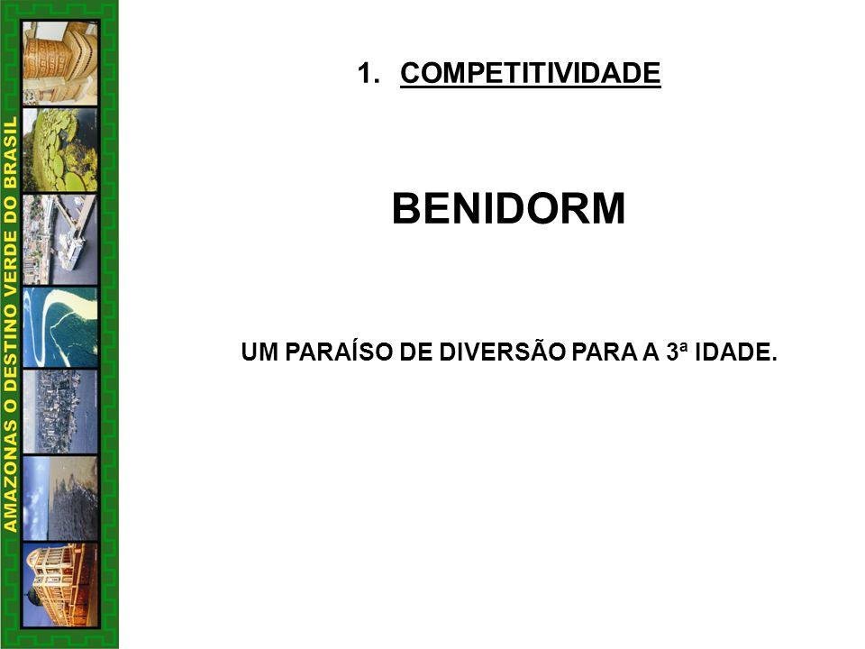 UM PARAÍSO DE DIVERSÃO PARA A 3ª IDADE.