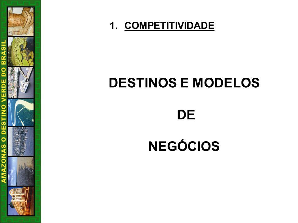 DESTINOS E MODELOS DE NEGÓCIOS