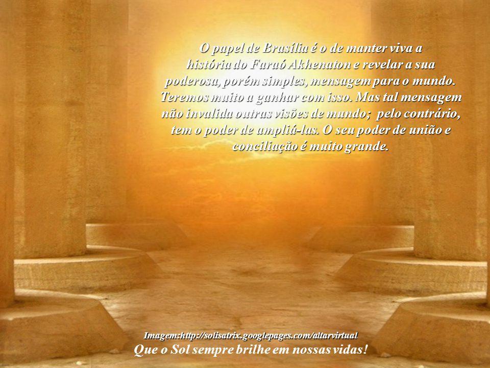 O papel de Brasília é o de manter viva a