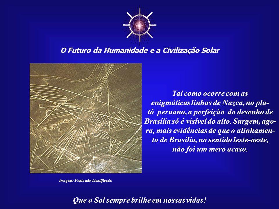 ☼ Tal como ocorre com as enigmáticas linhas de Nazca, no pla-