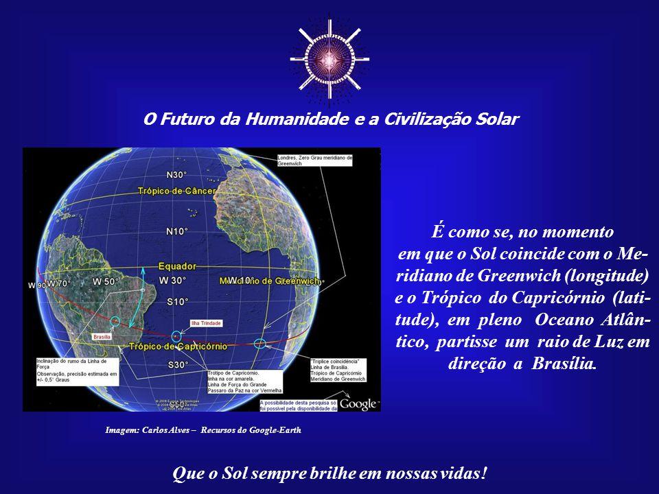 ☼ O Futuro da Humanidade e a Civilização Solar. É como se, no momento.
