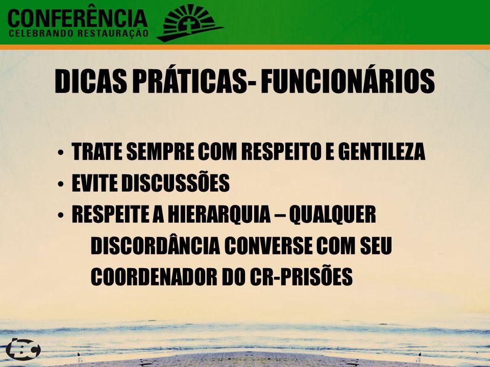 DICAS PRÁTICAS- FUNCIONÁRIOS