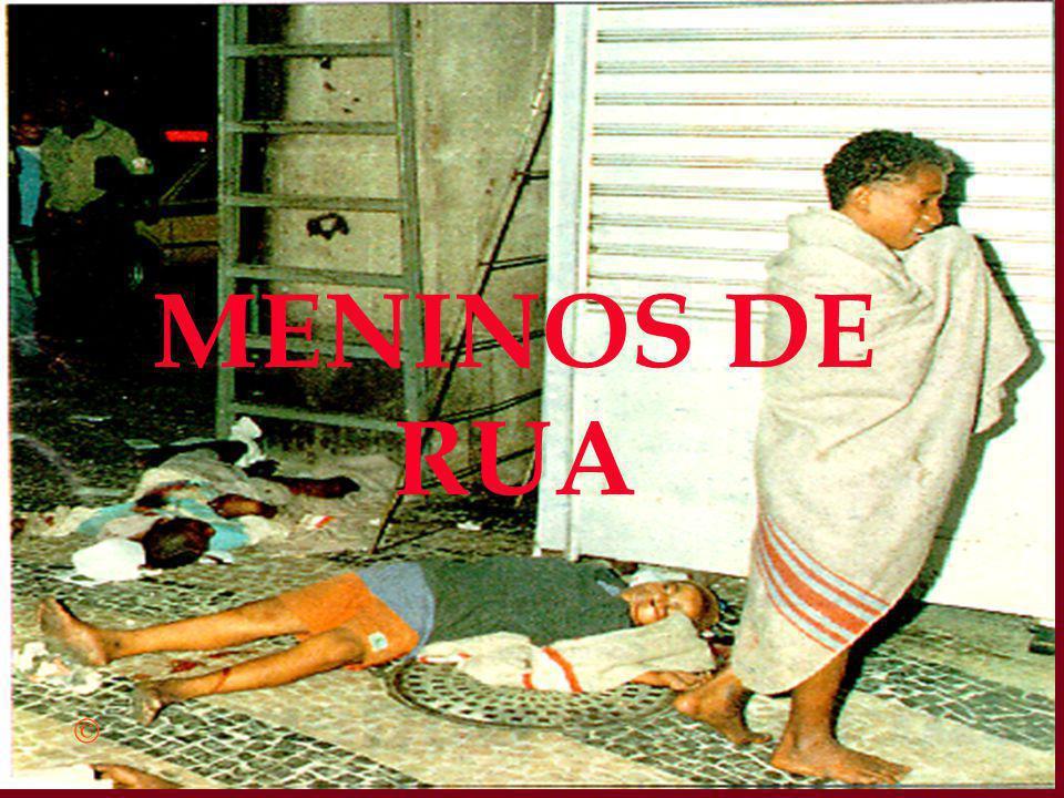 MENINOS DE RUA
