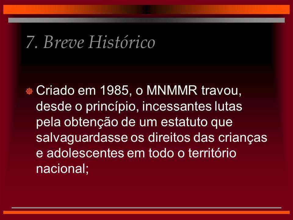 7. Breve Histórico