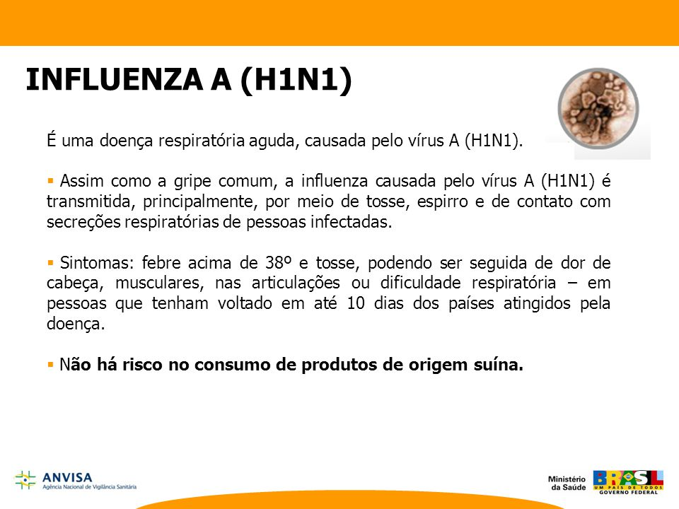 INFLUENZA A (H1N1) Lecture by the Minister of Health of ...
