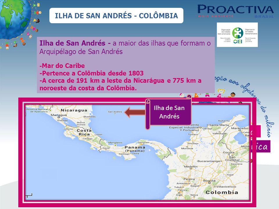 ILHA DE SAN ANDRÉS - COLÔMBIA