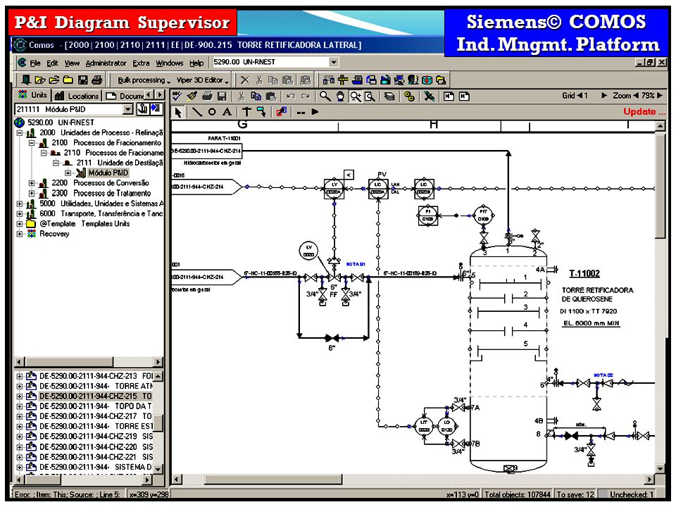 P&I Diagram Supervisor