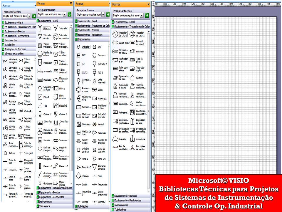 Bibliotecas Técnicas para Projetos de Sistemas de Instrumentação
