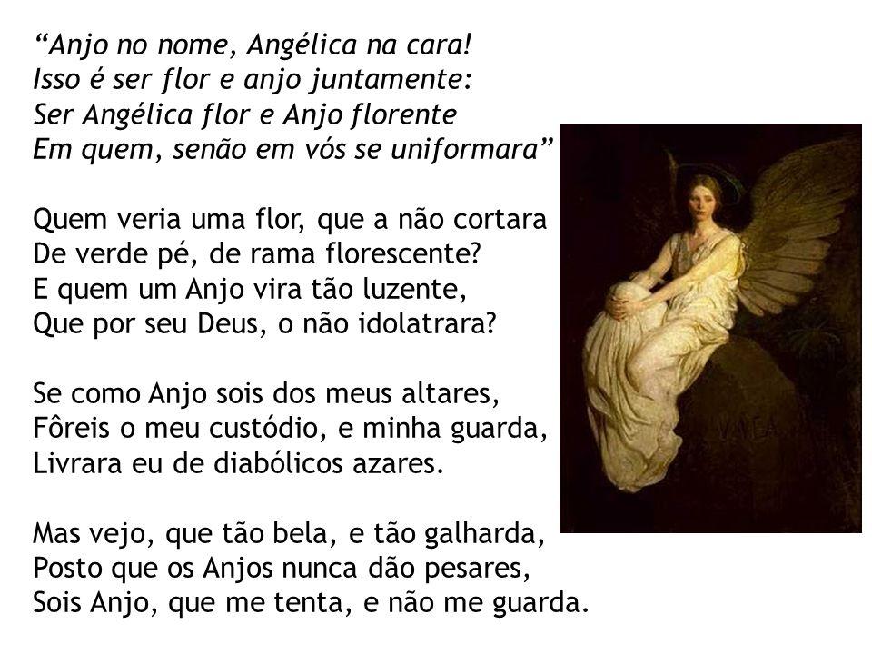 Anjo no nome, Angélica na cara!