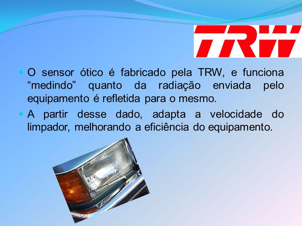O sensor ótico é fabricado pela TRW, e funciona medindo quanto da radiação enviada pelo equipamento é refletida para o mesmo.
