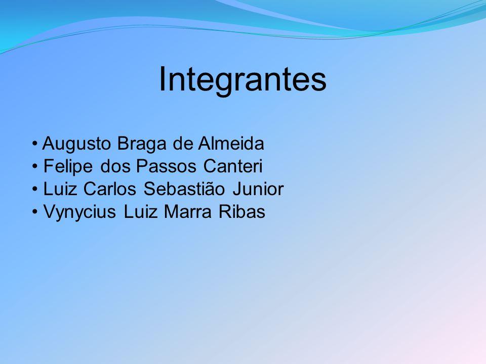 Integrantes Augusto Braga de Almeida Felipe dos Passos Canteri