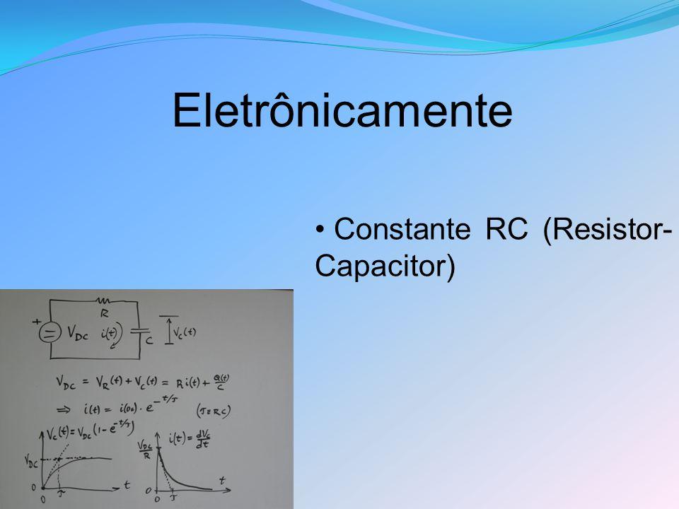 Eletrônicamente Constante RC (Resistor-Capacitor)