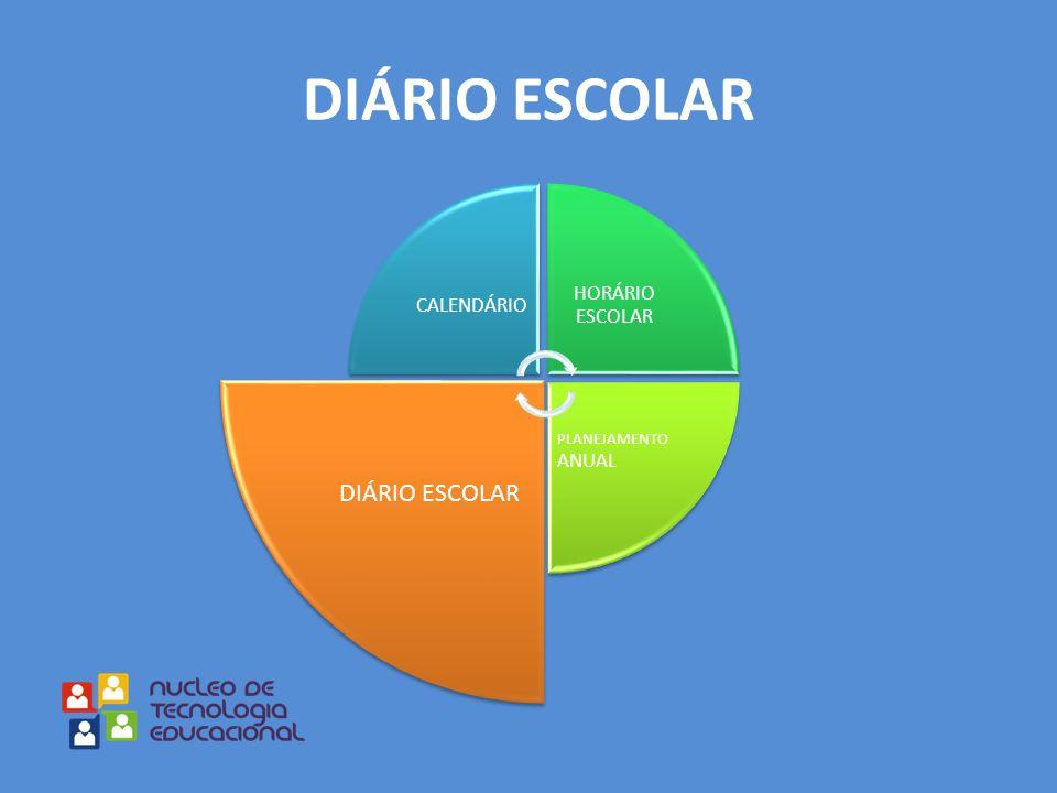 DIÁRIO ESCOLAR DIÁRIO ESCOLAR HORÁRIO ESCOLAR CALENDÁRIO