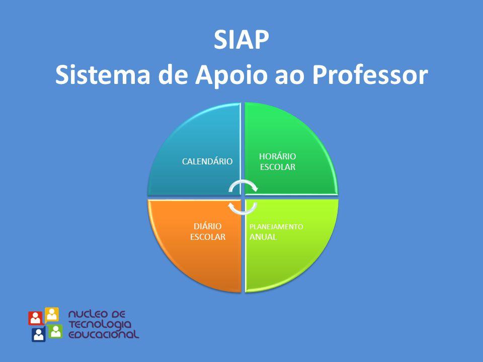 SIAP Sistema de Apoio ao Professor