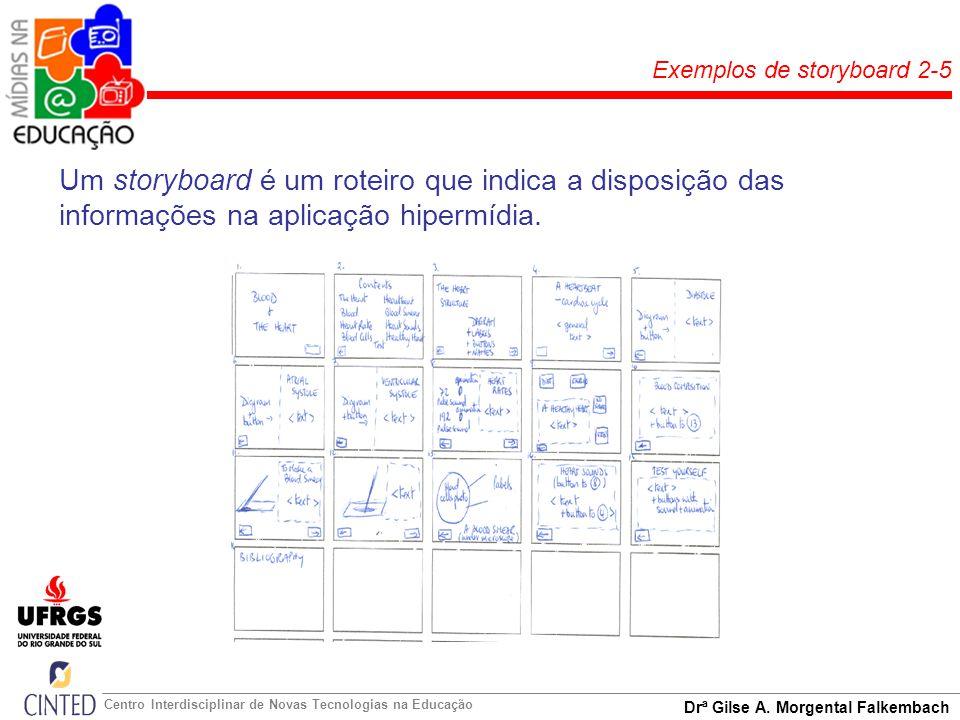 Exemplos de storyboard 2-5