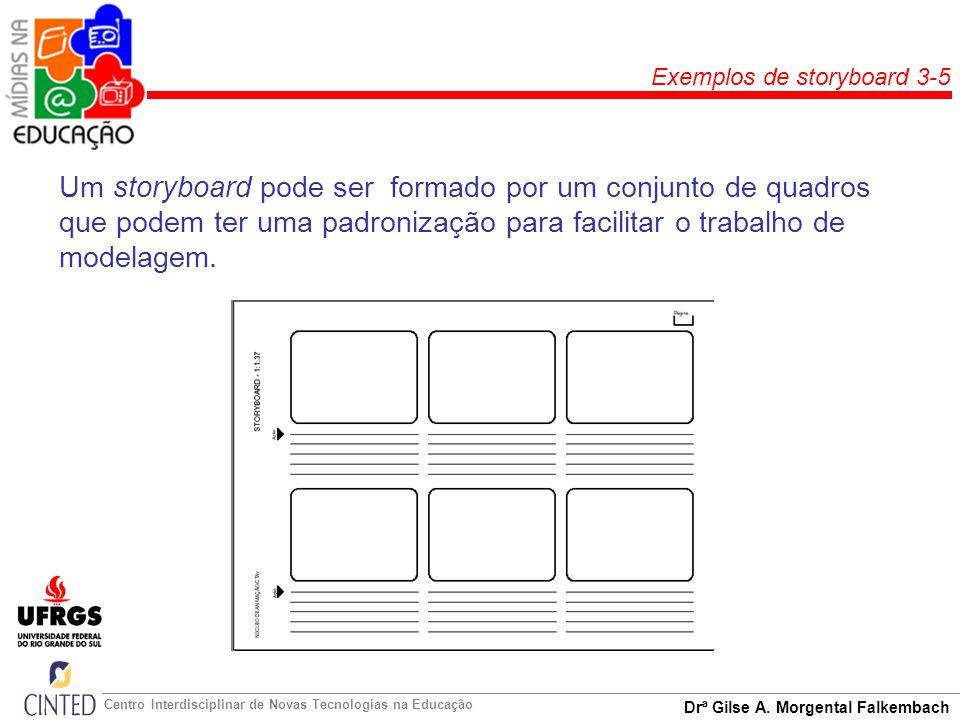 Exemplos de storyboard 3-5
