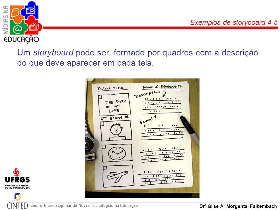 Exemplos de storyboard 4-5