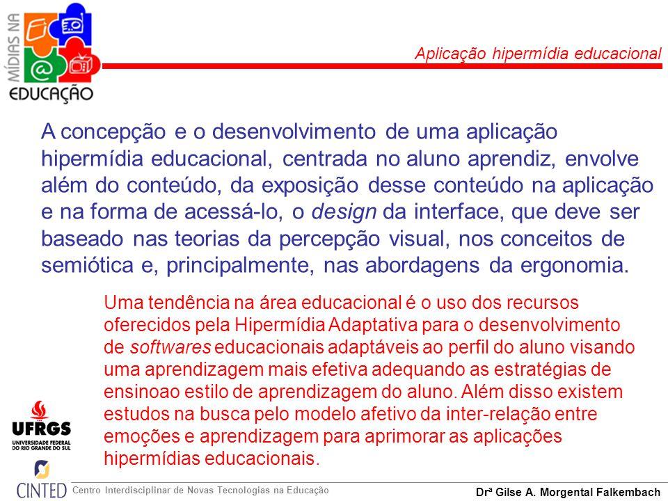 Aplicação hipermídia educacional