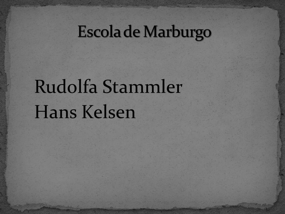 Rudolfa Stammler Hans Kelsen