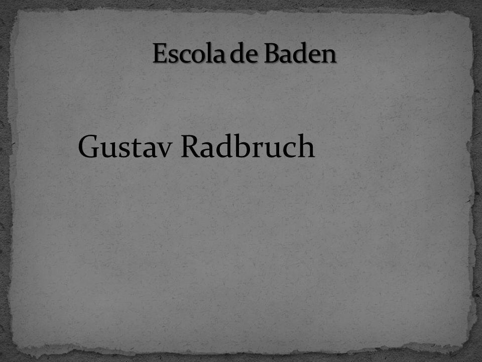 Escola de Baden Gustav Radbruch