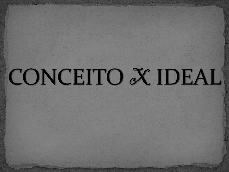 CONCEITO X IDEAL