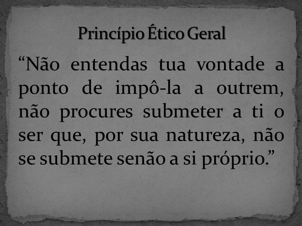 Princípio Ético Geral