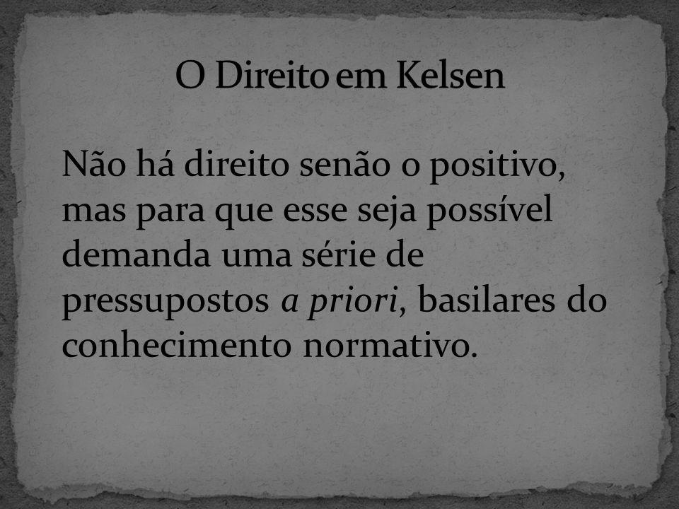 O Direito em Kelsen