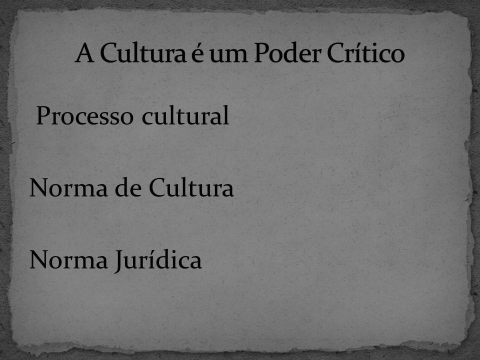 A Cultura é um Poder Crítico