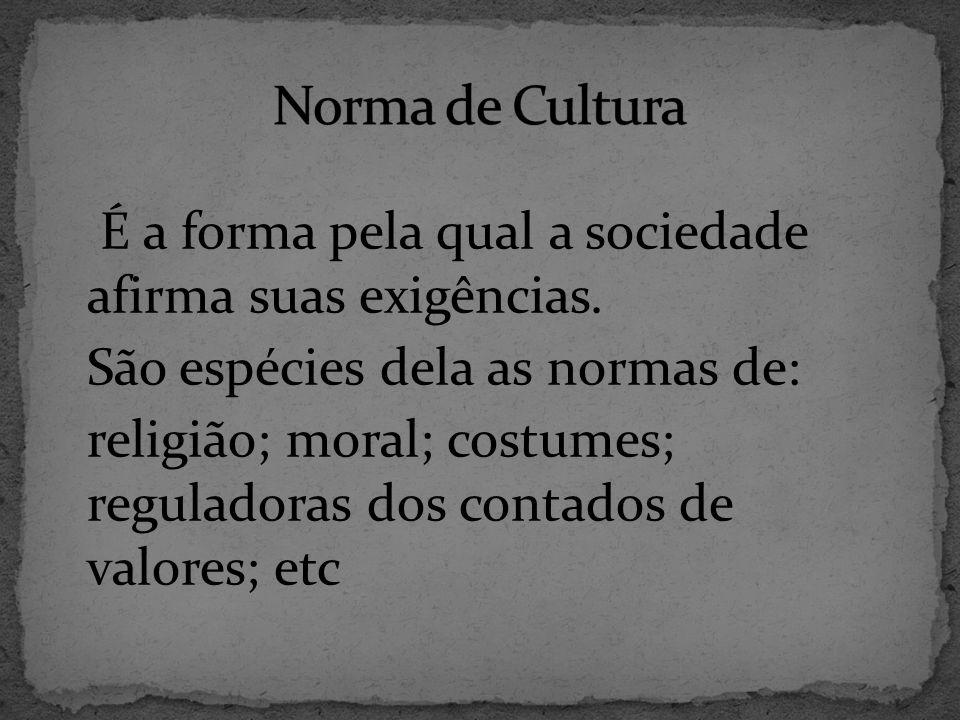Norma de Cultura