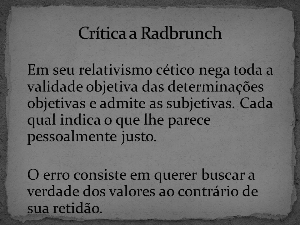 Crítica a Radbrunch