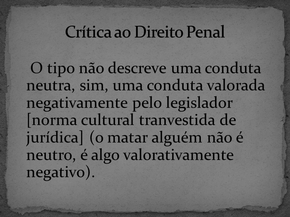 Crítica ao Direito Penal