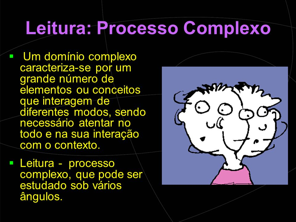 Leitura: Processo Complexo