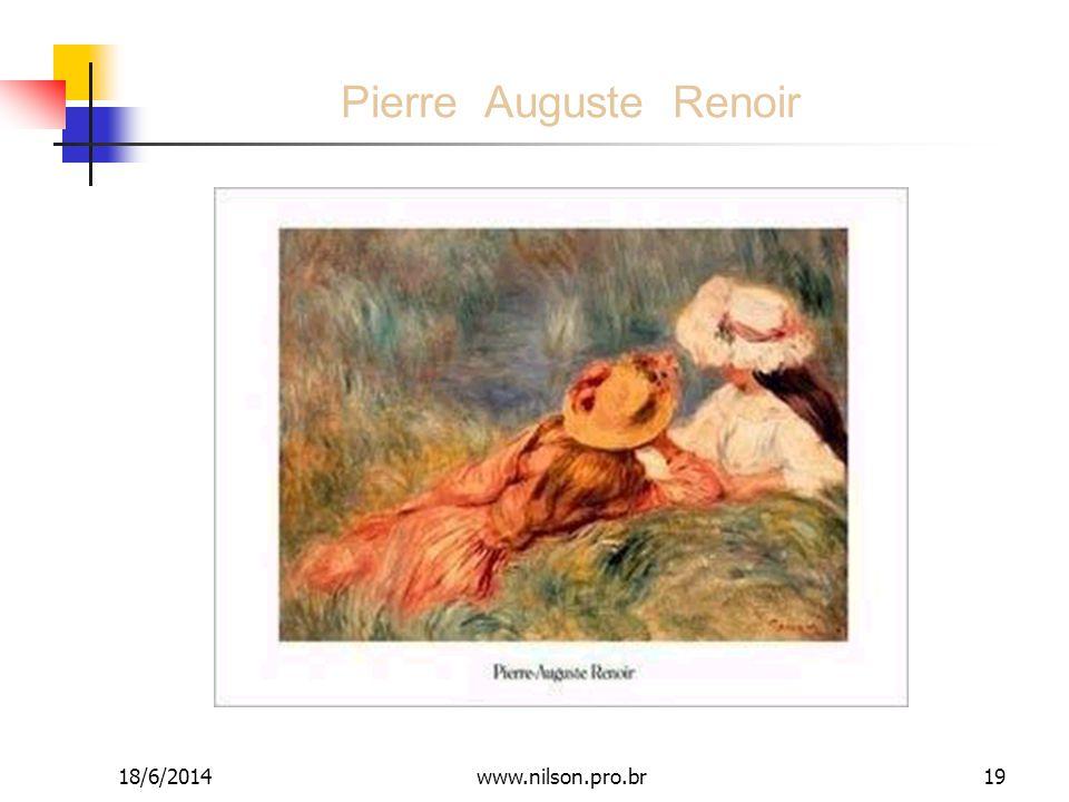 Pierre Auguste Renoir 02/04/2017 www.nilson.pro.br