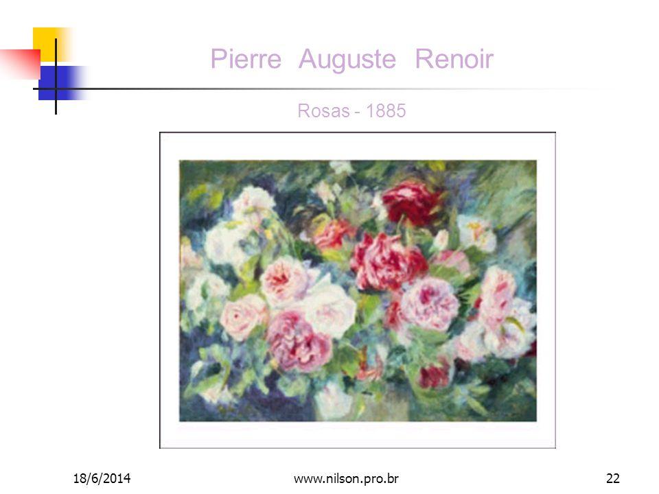 Pierre Auguste Renoir Rosas - 1885