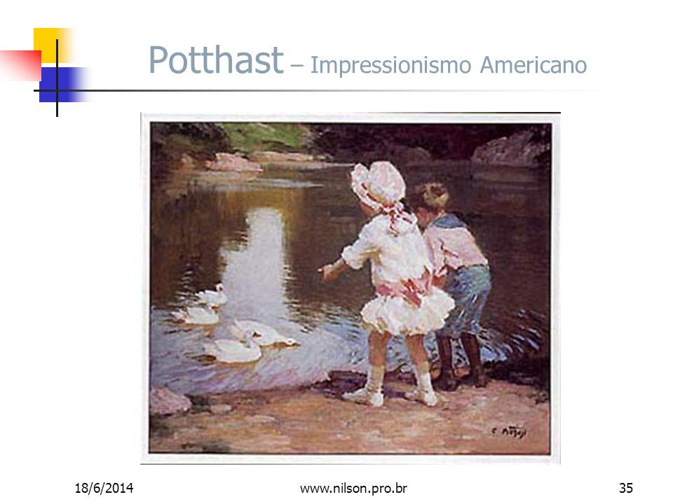Potthast – Impressionismo Americano