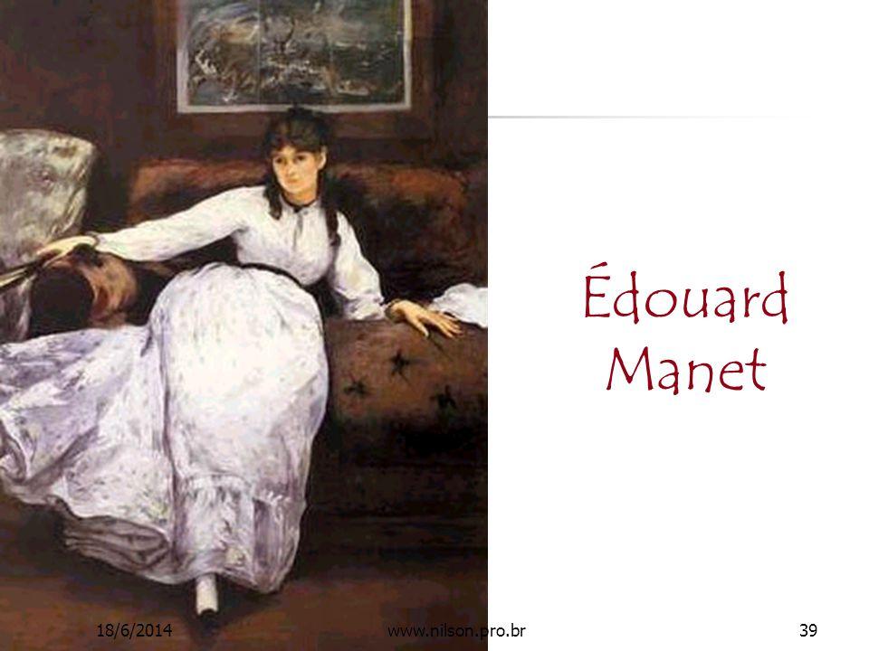 Édouard Manet 02/04/2017 www.nilson.pro.br